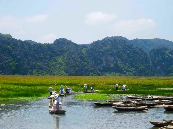 Hanoi - Van Long - Kenh Ga Eco-tourism