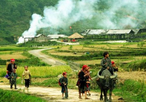 Sapa trek 3 days 4 nights overnight at hotel