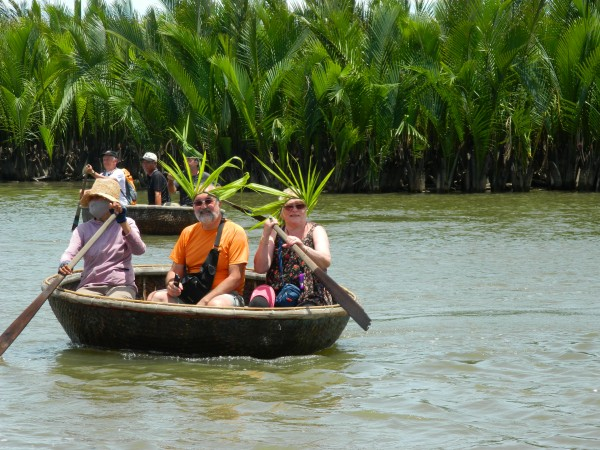 My Son Holy & Hoian Ancient Town/boat on river