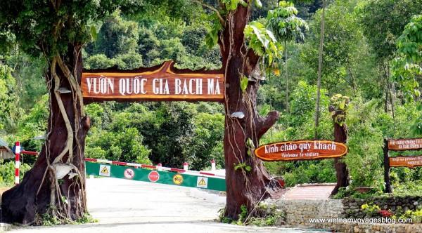 Bach Ma National Park tour